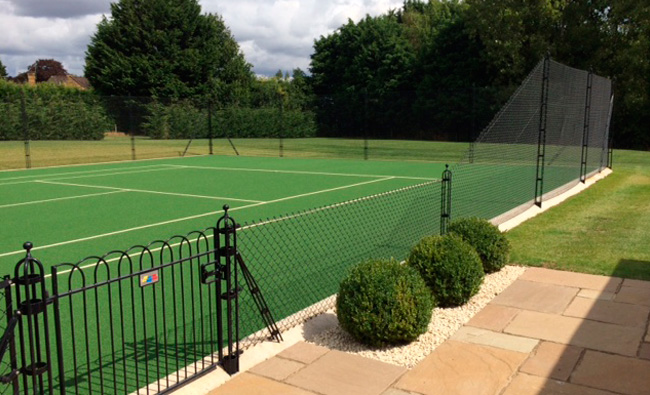 Tennis Court Surround